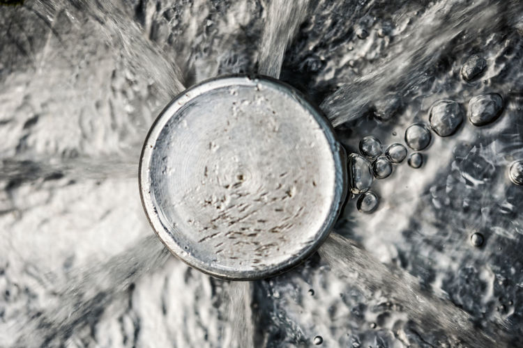 Abstract Photography Abstract Macro Metal Near Water Water Bubbles Water Jet Water Pressure Water_collection