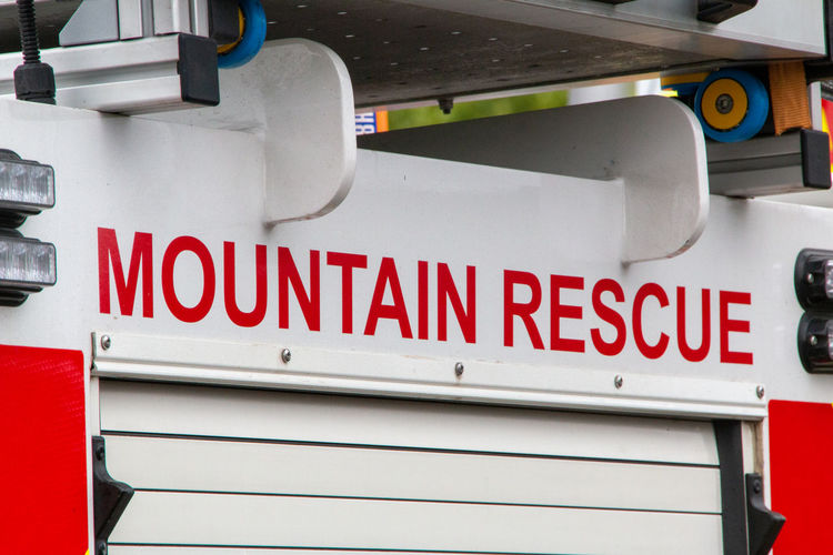 Text Healthcare And Medicine Red No People Western Script Communication White Color Accidents And Disasters Emergency Sign Close-up Sign Hospital Urgency First Aid Day Emergency Services Occupation Direction Mountain Rescue Vehicle Emergency Vehicle