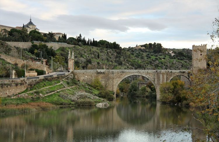 Arch Arch Bridge Arched Architecture Bridge Bridge - Man Made Structure Building Exterior Built Structure Cloud - Sky Connection Historical Landmark History Italy No People Reflection River The Past Water