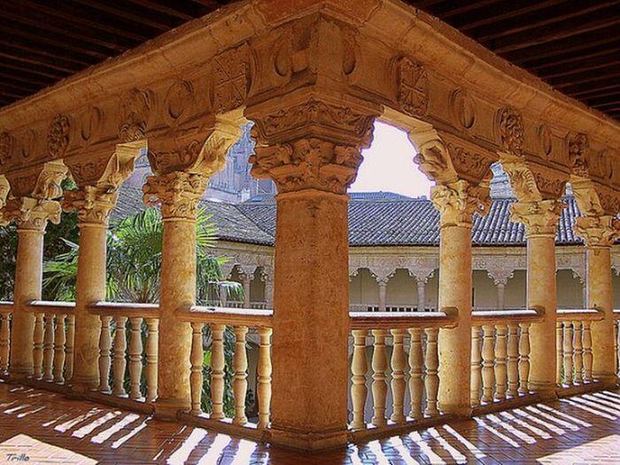 Salamanca Claustro Claustro De Las Dueñas Sombras Y Luces... My Year My View