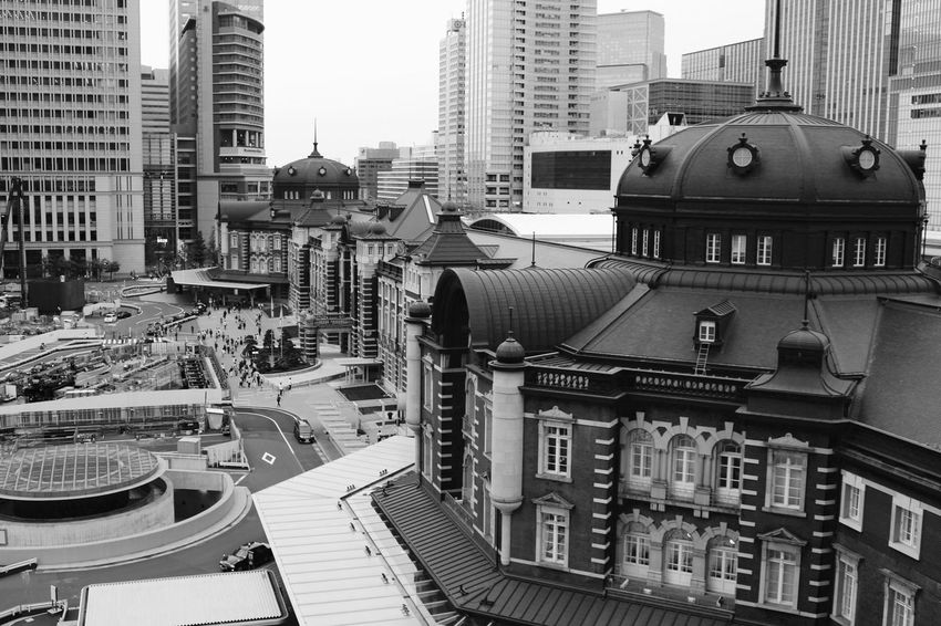 Amazing Architecture Tokyo Station modern and traditional Tokyo