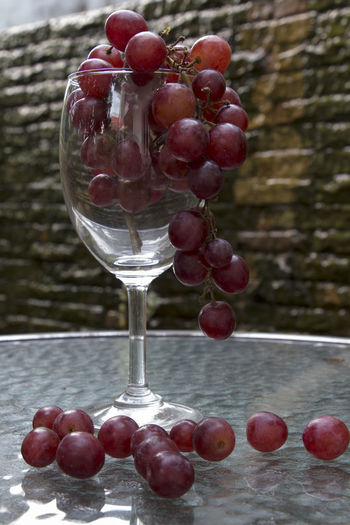 Berry Fruit Close-up Food Food And Drink Freshness Fruit Green Olive Healthy Eating Maroon Nature No People Outdoors Ready-to-eat Red Sweet Food Wineglass