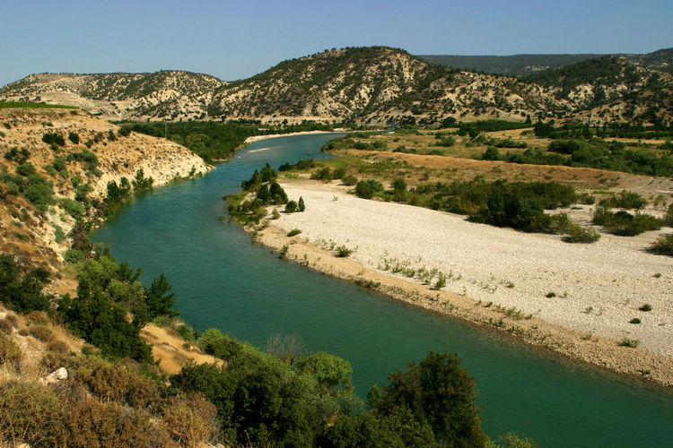 Göksu River in