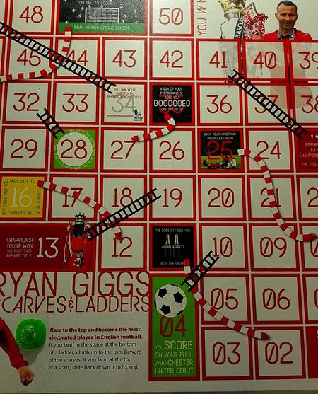 Manchester United Manchester United Museum Colorful MANCHESTER UNITED FC Ryan Giggs Game Old Trafford