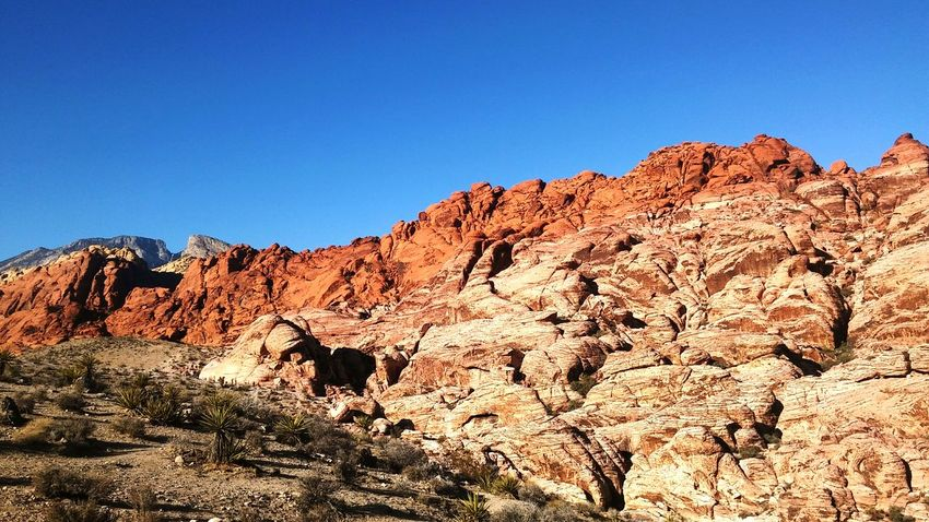 Sky Rock Scenics - Nature Rock - Object Rock Formation Nature Landscape Beauty In Nature Travel Destinations Travel Blue Clear Sky Canyons Red Rock Canyon Red Rock Canyon State Park Red Rock, Las Vegas, Nevada Beautiful Beauty In Nature
