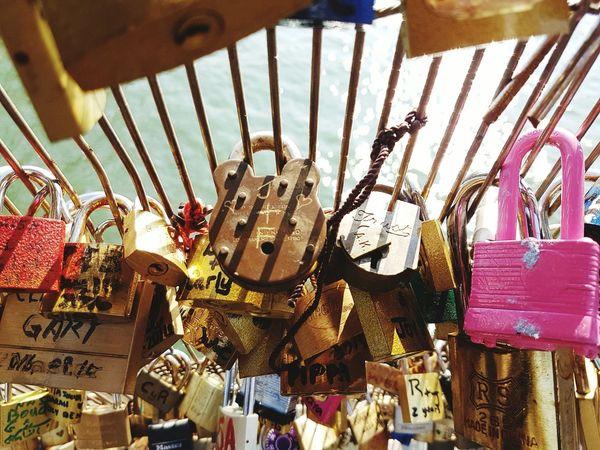 France padlocks | Padlock Padlock's Bridge Padlock On A Fence Padlocked Padlockoflove Padlock Fence In Paris Padlock's Loves France 🇫🇷 France Francia Paris ❤ Paris Paris, France  Candado Candados De Amor Candados