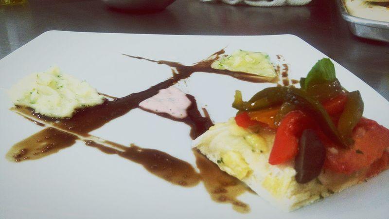 Foodlove That's Me Gastronomy Italian Food Art Foccacia Alioli Peperonata