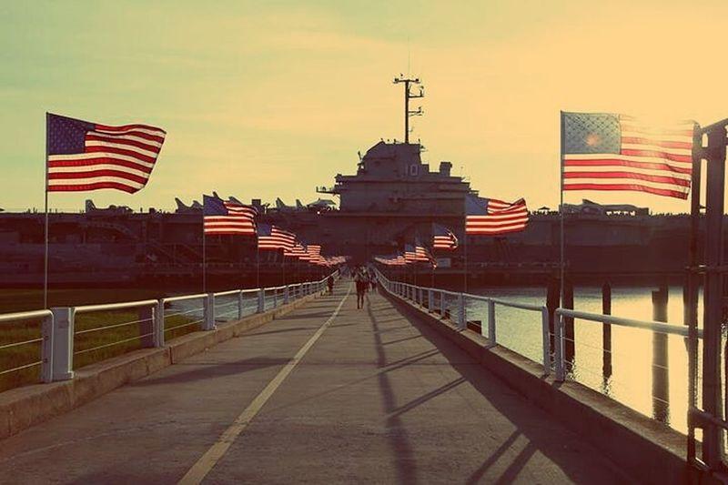 Battleship Marines Flags Usa Trip ⚓