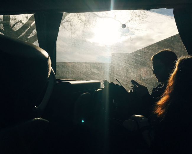 Day Indoors  Journey Nature Real People Sitting Sky Sunlight Transportation Travel Window