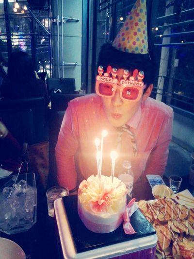 Birthday Hi! That's Me Enjoying Life
