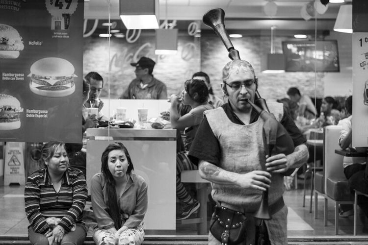 People Taking Photos Musician Tatoo Blackandwhite Streetphotography Mexico City Enjoying Life B&W Portrait City Life