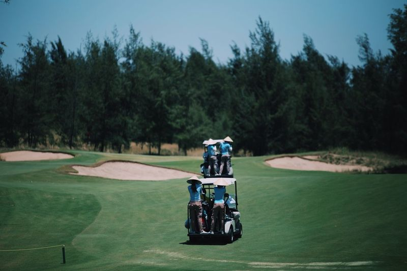 Buggy Race Malaysia Truly Asia Malaysia Golf Golfer Greenbox Golf Course Commercial Tree Plant Sport Green Color Golf Golf Course Transportation EyeEmNewHere 2018 In One Photograph