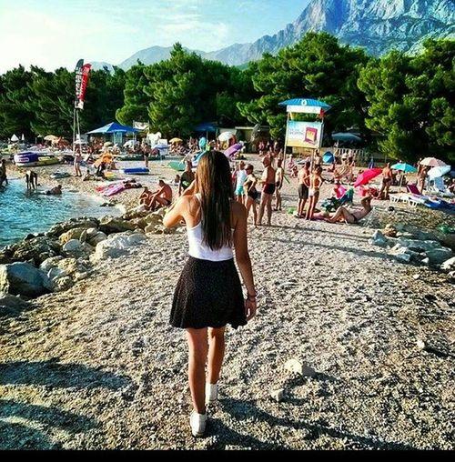 Favouriteplaceonthebeach Takemeback Makarska Makarskariviera Dalmatinskazagora💞
