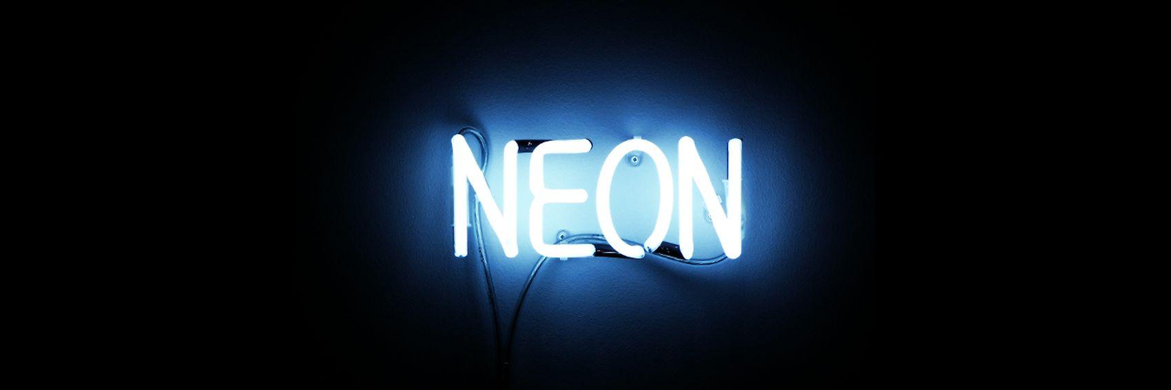 Cuz baby we will bright up like NEON LIGHTS Neon Lights Neonlights Neon Sign NeonParty Neons Neonblue First Eyeem Photo