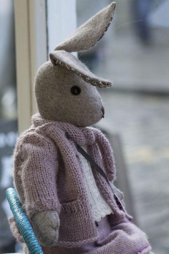 Luna Lupin Childhood Close-up Collection Luna Lupin Pink Cardigan Rabbit Scenics Soft Toy Stuffed Stuffed Toy Teddy Bear