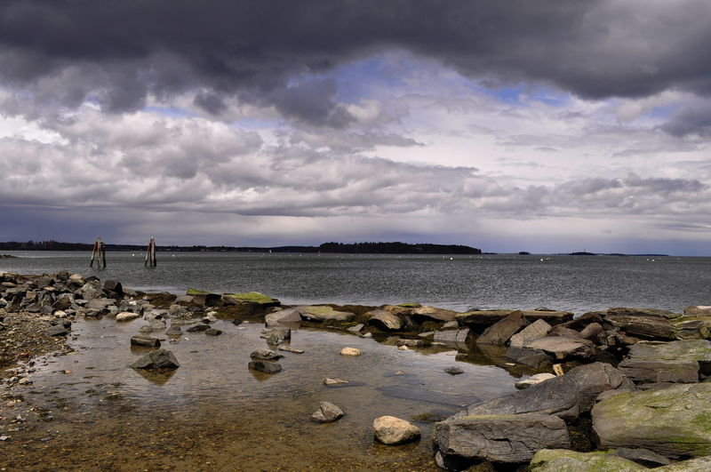 Seascape_lovers Horizon Atlantic Ocean Maine Coastline Nikon Storm Clouds Maine The Way Life Should Be Nikonphotography Ptsd Awareness Memories ❤ Weather Clouds And Sky Sigma Found On The Roll Raw Image