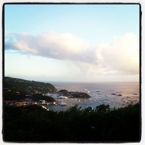 Last sunset of 2013. Stbarths