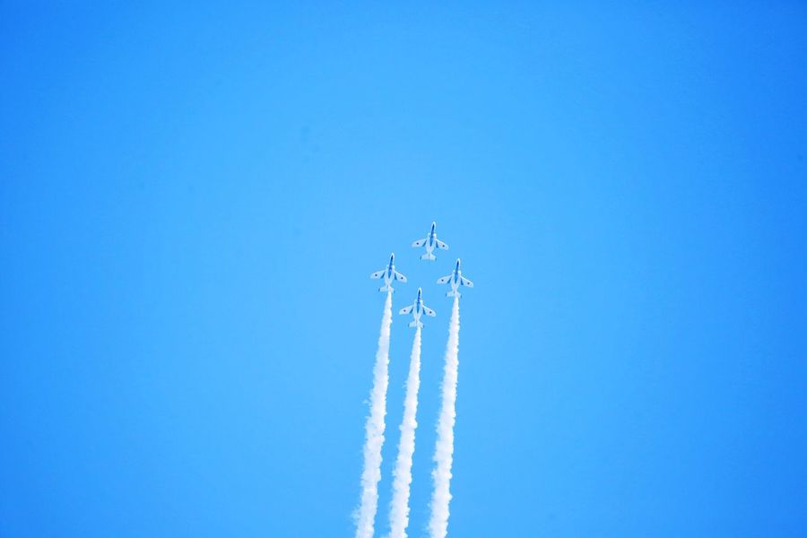 My first blue Iruma Air Base Blue Impulse Love Blue Sky Exciting