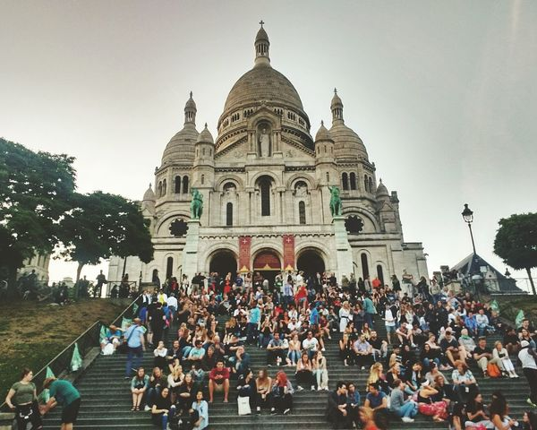 Large Group Of People Dome Architecture Religion Travel Destinations Façade Built Structure Place Of Worship Day People Building Exterior Real People Outdoors Adults Only Sky Adult