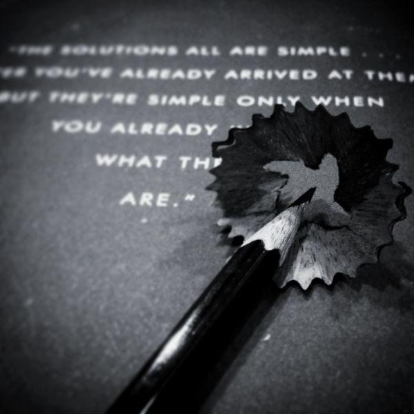 Blackandwhite IPS2015BW Pencil Sharpening Book