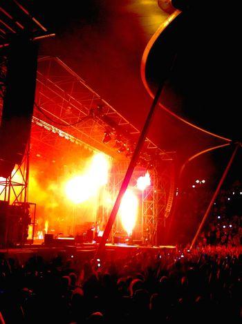 Marteria Concert Wuhlheide Berlin Pyro Pyrotechnics Fireworks EyeEm Germany