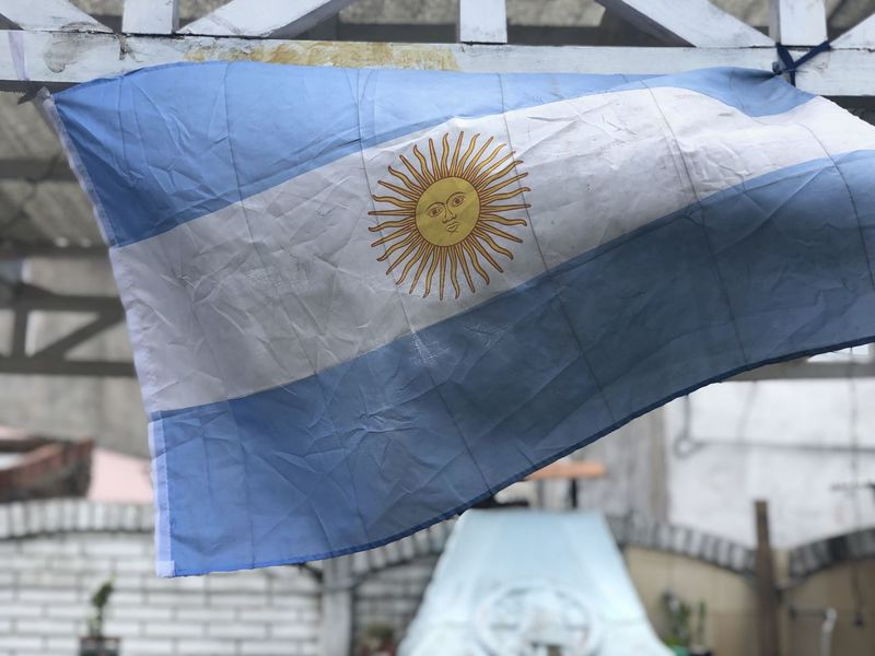 Bandera Argentina Architecture Focus On Foreground Close-up Day Built Structure No People Building Exterior