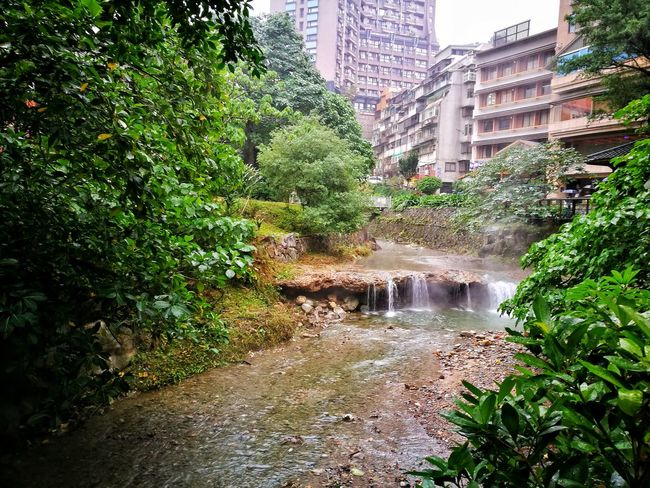 Built Structure Architecture Water Building Exterior City Tree Green Color No People Growth Outdoors Nature Skyscraper Day Scenics Motion Cityscape Xinbeitouhotspring Xinbeitou Taiwan