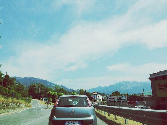 Traffic Jam 🚗 Traffic Jam Sun ☀ Clouds And Sky
