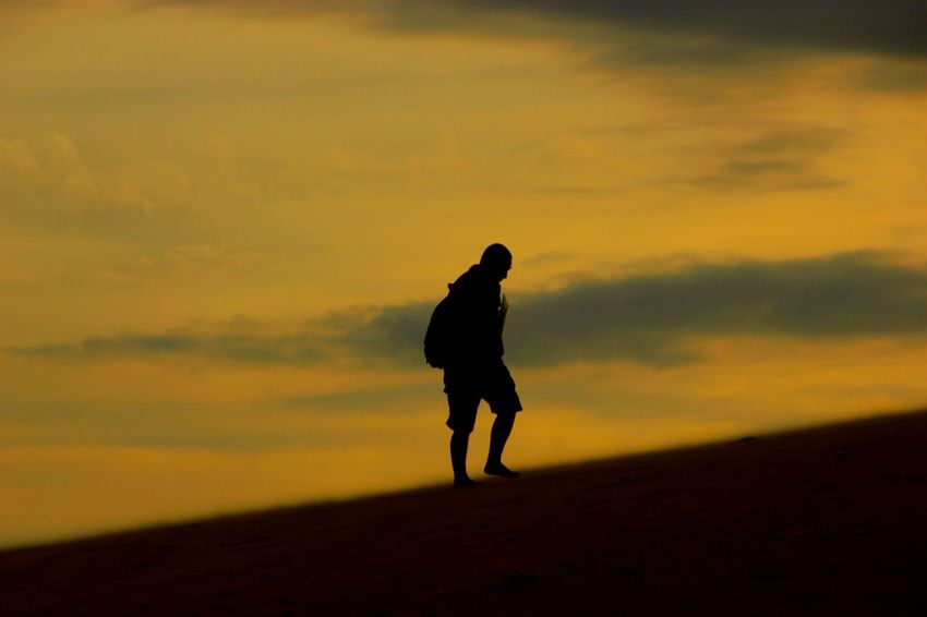 Vietnam Sunset One Man Only Walking Resistance  Resist Break The Mold