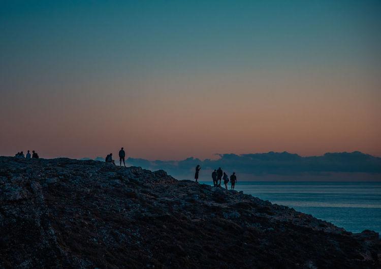 Sunset at sagres