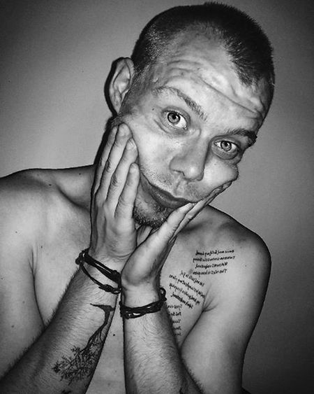 Selfie Me Weird Crazy Silly Nosleep  Insomnia Bwingcrazy Photo Capture Moment Tattoo Bw Bwofthenight Instamoment Instablackandwhite