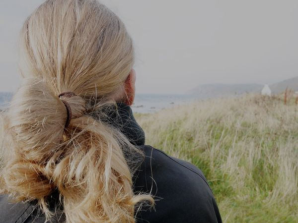 Hairstyle Hair Man Manbun Nature Peoplefromtheback RePicture Masculinity