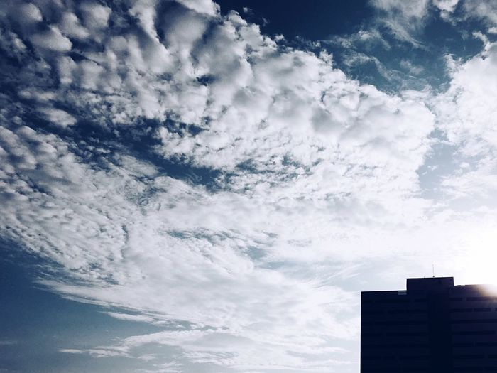 Clouds Flood Sky And Clouds Sunlight Noon Lima-Perú Blue Sky Shadows & Lights Penumbra