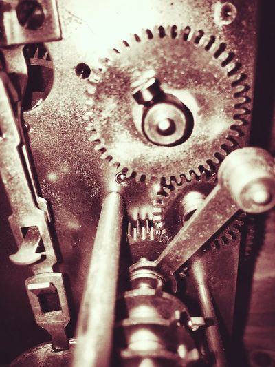 Gears Gears Clock Working Together