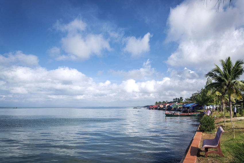 coastline and famous crab market in kep Cambodia Cambodia Coastline Crab Market Famous Kep, Cambodia Market View Cambodian Coast Kep Landmark Sunny Day