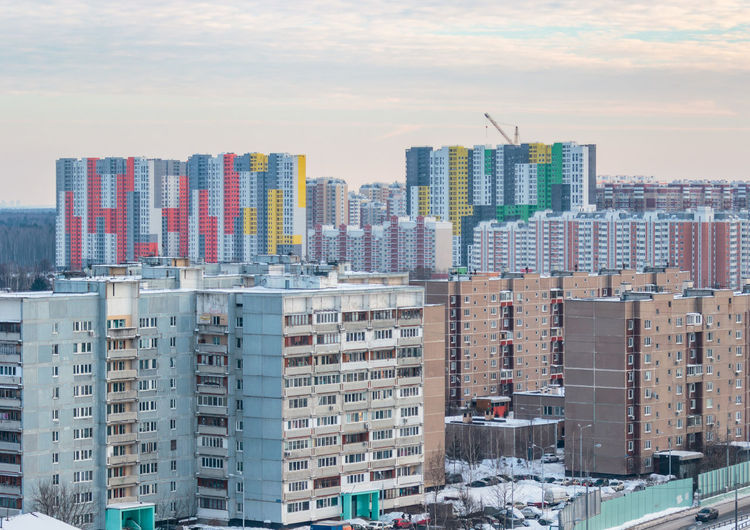 Architectural rhythms Architecture Buildings Drozhzhino House Houses Moscow Moscow City New Moscow Prefabricated Houses Russia Shcherbinka The City Light