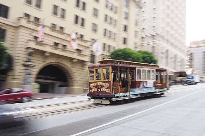 Moving cable car in San Francisco tourism blur Motion Blur street Road California Traffic Tram fast Bay Area west coast urban america USA San Francisco vehicle Moving movement blur Cable Car on the move Colour Your Horizn Mobility In Mega Cities Tourism Blur Motion Blur Street Road California Traffic Tram Fast Bay Area West Coast Urban America USA San Francisco Vehicle Moving Movement Blur Cable Car Speed Transportation Mode Of Transport City Built Structure Public Transportation Travel City Life Motion California Dreamin Stories From The City The Street Photographer - 2018 EyeEm Awards