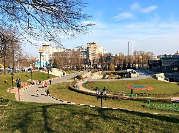 Moscow April
