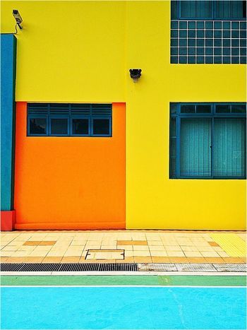 Architecture Colours Geometric Abstraction