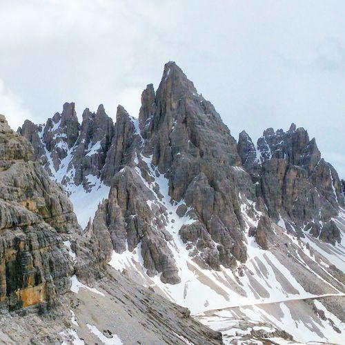 Peaks near Tre