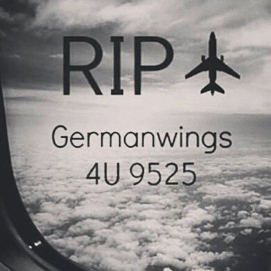 It's time for angels to fly. 4u9525 :(