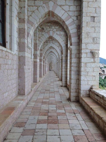 Assisi, Italy Porticato Architecture
