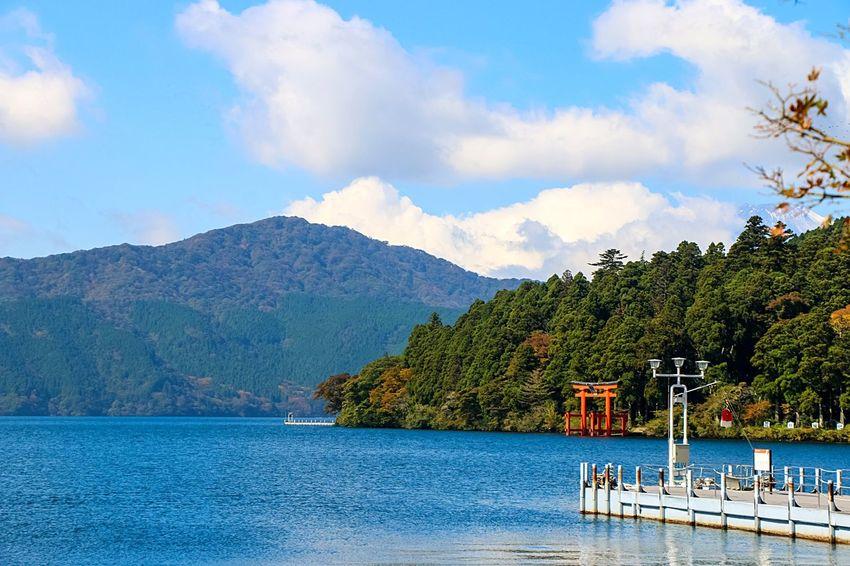 EyeEm Nature Lover From My Point Of View EyeEm Best Edits Naturelovers Beautiful Nature Hakone Japan Hakone-ashinoko Ashino Lake Lake Ashinoko Beautiful Fuji Mountain