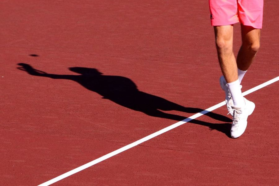 Tennis Peaceful Moves Around Feels Like Dancing Legs On The Air Portugal Futures Tournament