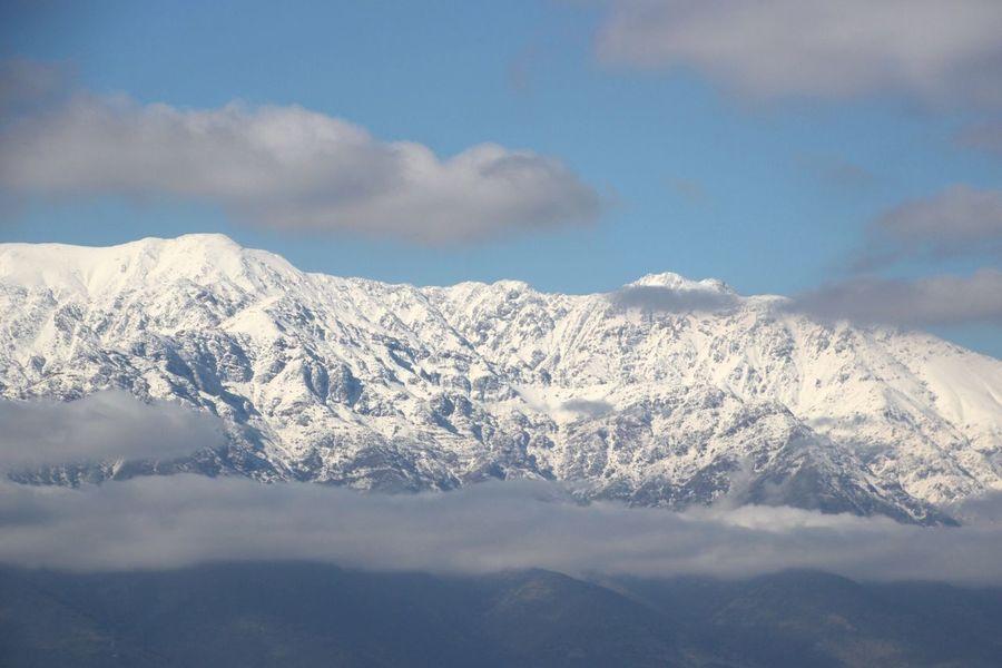 Cordillera de Los Andes Cordillera Chile Mountain Nature Snow