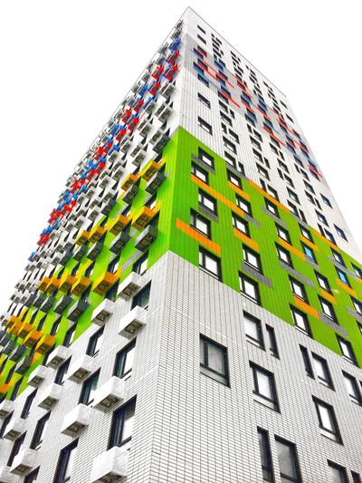 Built Structure Architecture Building Exterior Low Angle View Nature Building No People Multi Colored Sky Outdoors Business Pattern Day Office Building Exterior Finance City Green Color Office Growth Digital Composite
