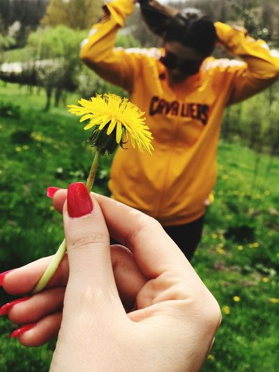Human Hand Hand Real People One Person Holding Human Body Part Plant Focus On Foreground Finger Flower Women Lifestyles Flowering Plant Human Finger Leisure Activity Freshness Body Part Day Outdoors Nature Visual Creativity
