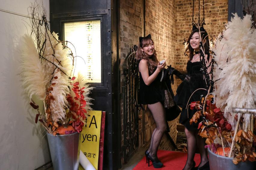 Beautiful Girl Cute Girl Halloweenmakeup Street Photography EyeEm Best Edits Halloween EyeEm Happy Halloween! Japanese Girl From My Point Of View Halloween Costumes