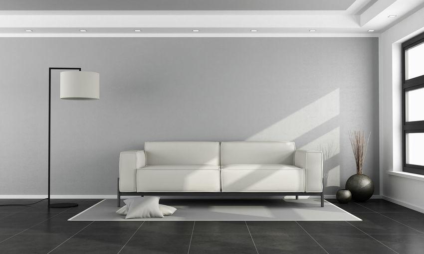 Interior of modern home