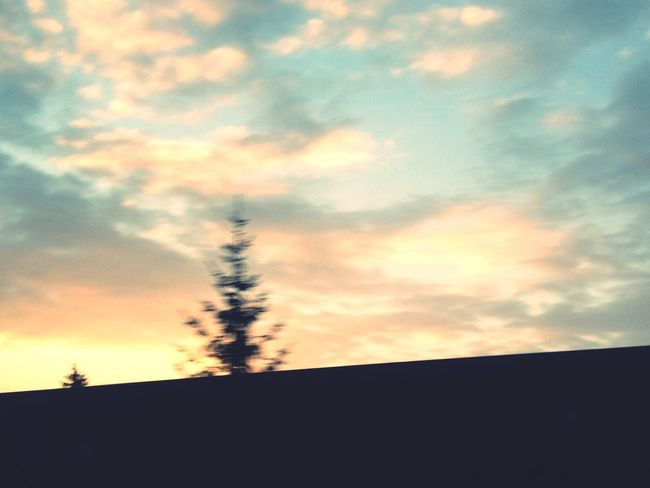 Sky out of a driving car, looks like a Drawing EyeEm Nature Lover Nature Collection